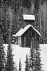 An historic mine along Red Mountain Pass in the San Juan Mountains, Colorado, USA.