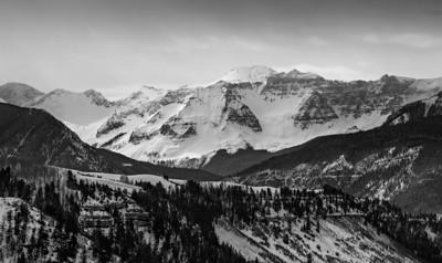 The San Juan mountains near Telluride, Colorado, USA