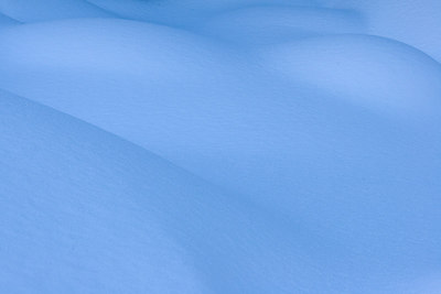 """Voluptuous""  The winter of 2006-2007 brought many snowstorms to Colorado. Down in Castlewood Canyon, the deep drifts formed into sensuous curves."