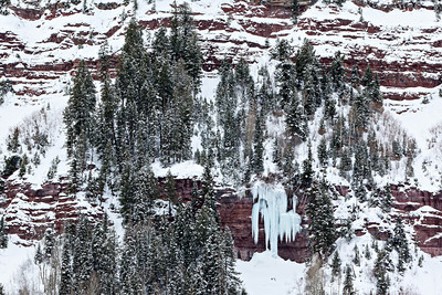 """Icy Canyon Wall""  Taken in Telluride, Colorado, USA."