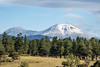A first snow fell on the Buffalo Peaks near Fairplay, Colorado, USA. Taken on the morning of August 26, 2016