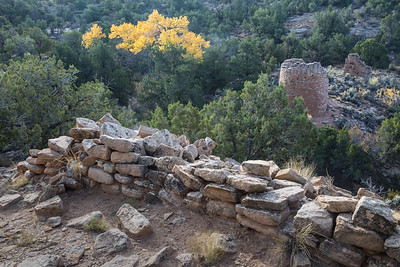 Ruins at the Cutthroat Castle group. Taken in Hovenweep National Monument, Colorado, USA.