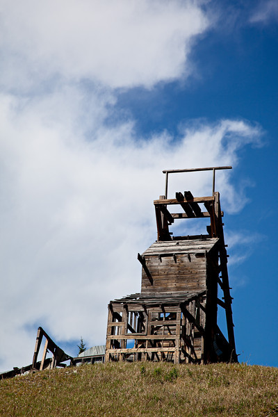 The Longfellow Mine, in the Red Mountain Mining District of Colorado, USA.