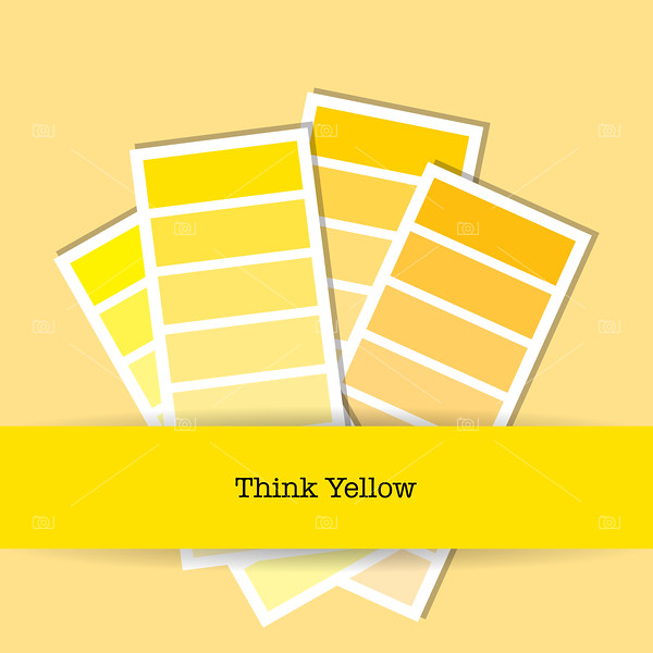 Think yellow