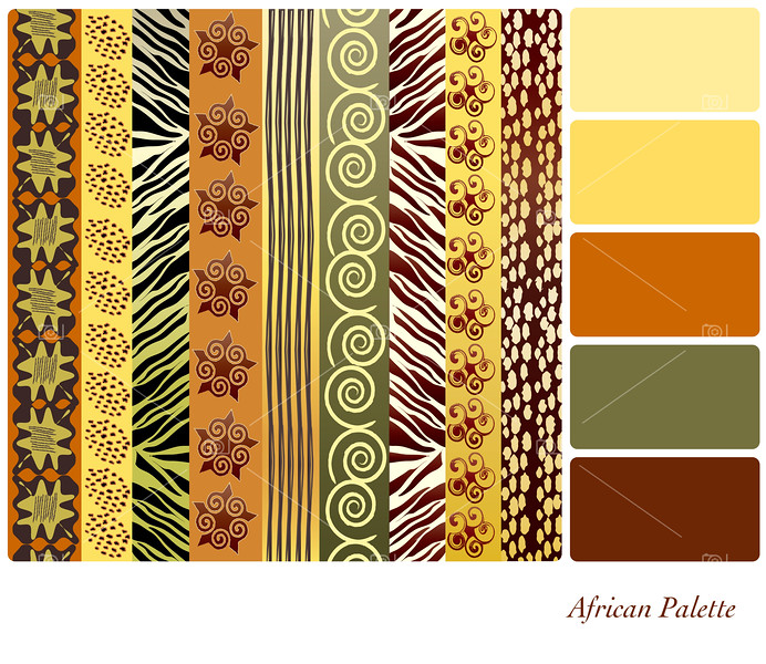 African palette