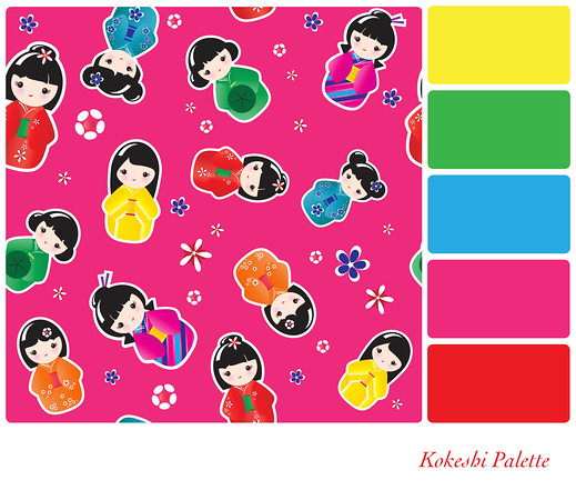 Kokeshi Palette