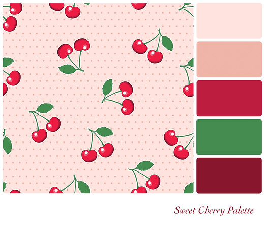 Sweet Cherry Palette