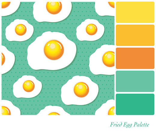 Fried Egg Palette