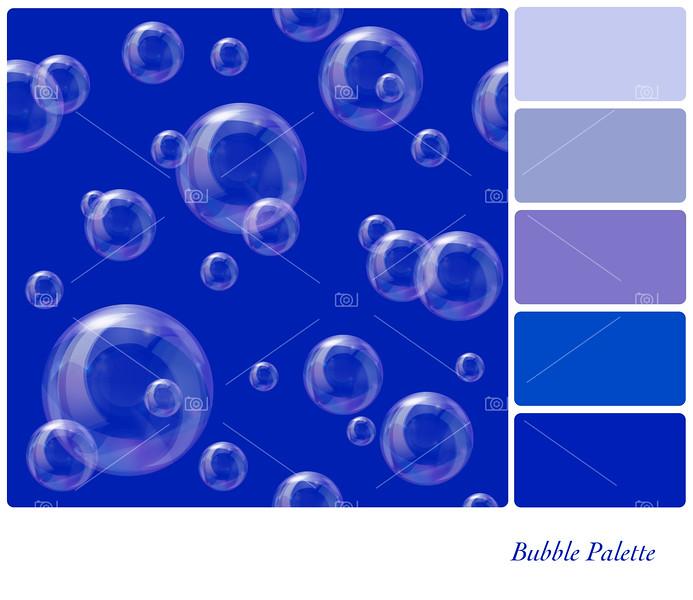 Soap bubbles palette