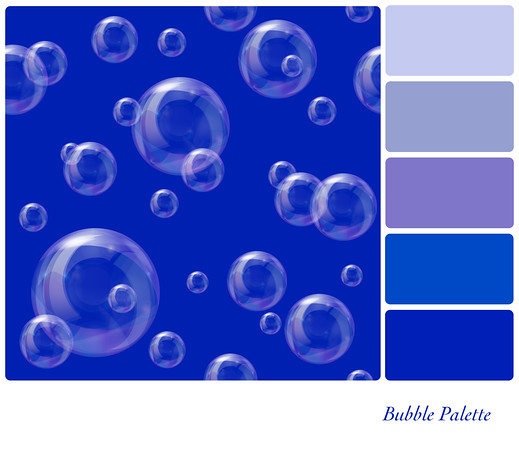 Soap bubbles palette