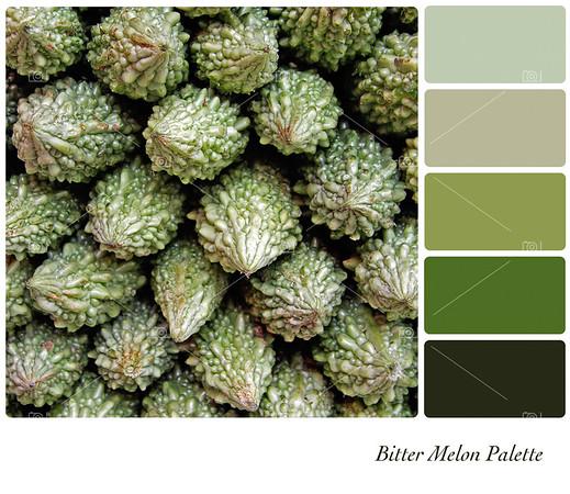 Bitter melon palette