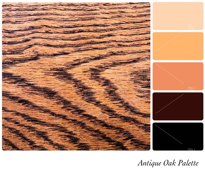 Antique Oak palette