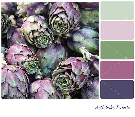 Artichoke palette