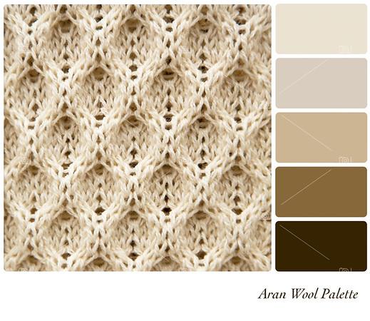 Aran wool palette