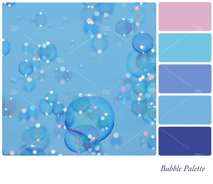 Bubbles palette