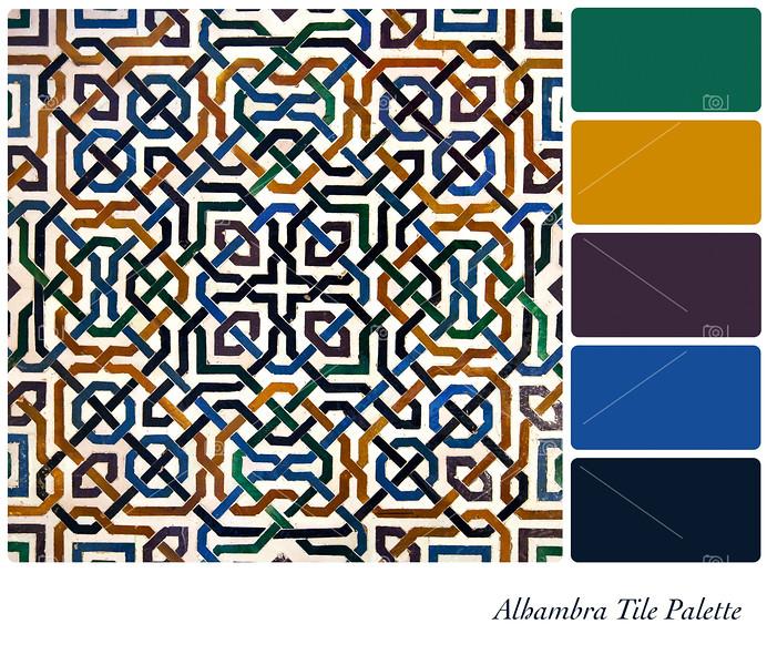 Alhambra Tile Palette