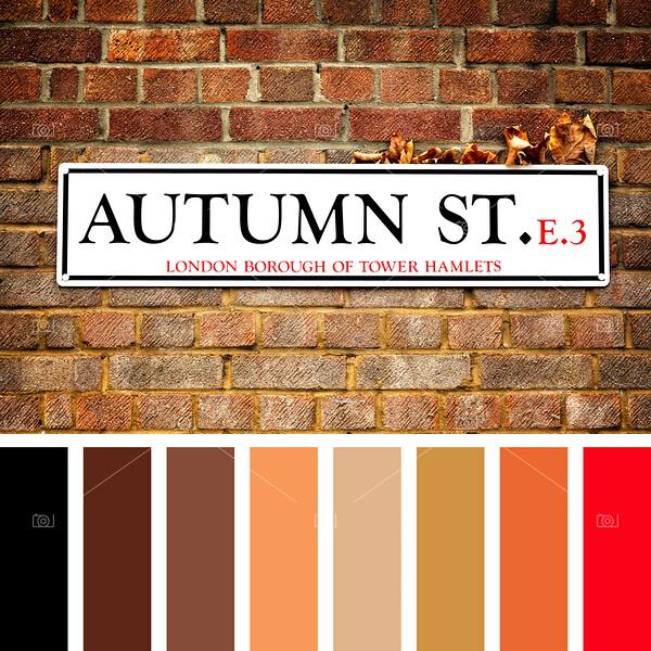 Autumn Street palette
