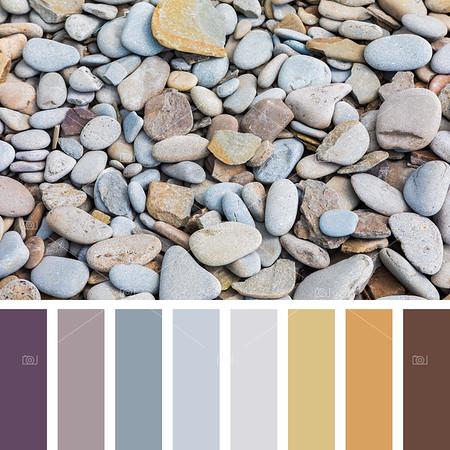Beach pebble palette