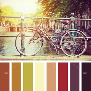 Amsterdam cycle palette