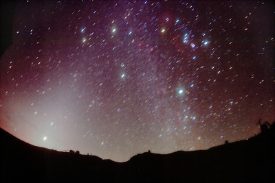 Zodiacal Light & Milky Way