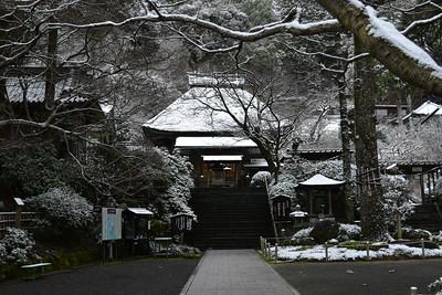 雪の大興善寺