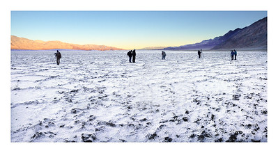 Great Photographers at Badwater, Death Valley
