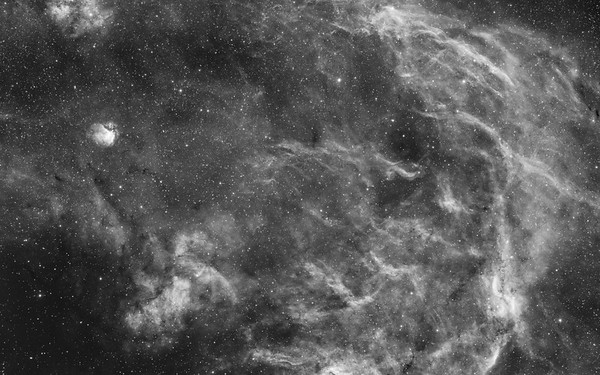 Propeller Nebula - H Alpha