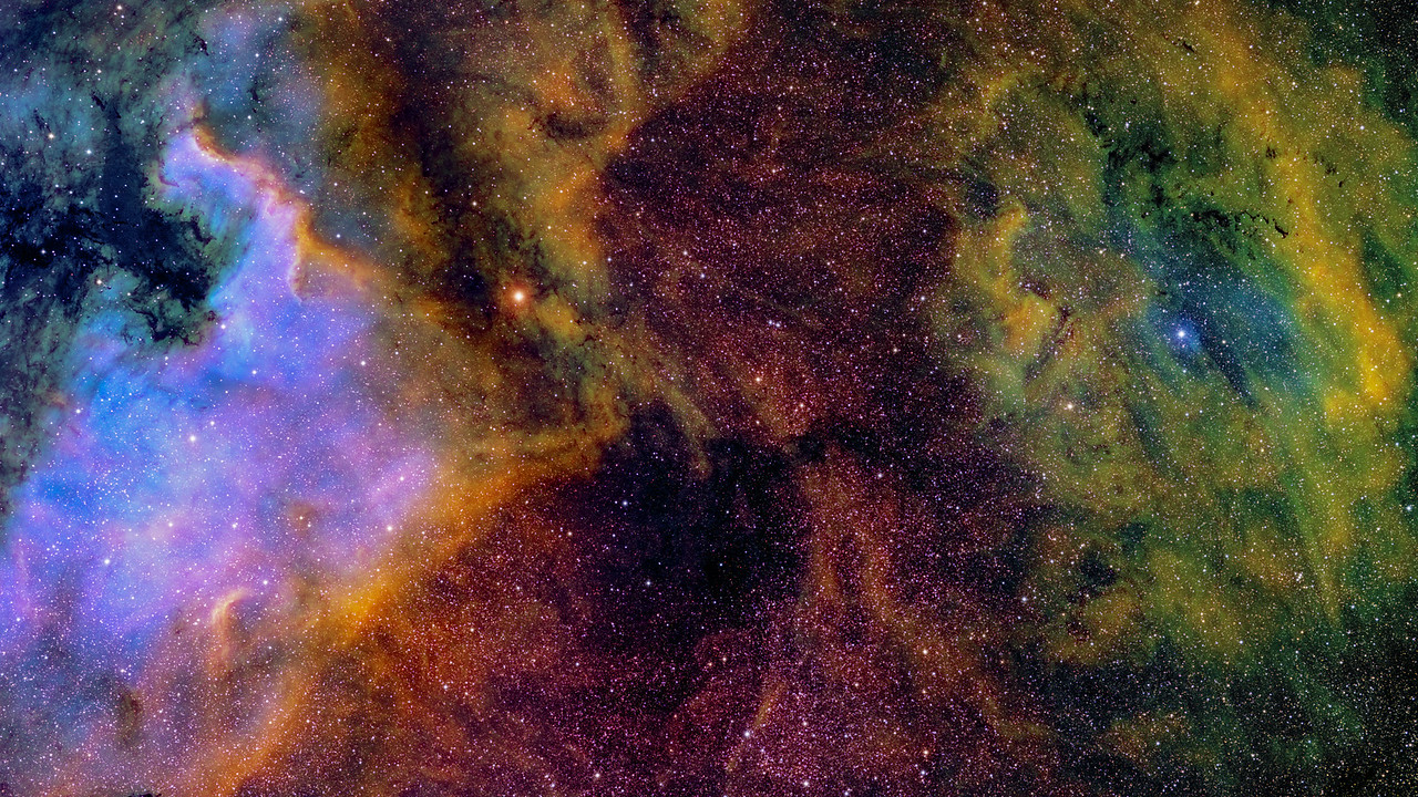 Sharpless 119 (Sh2-199) And The North America Nebula