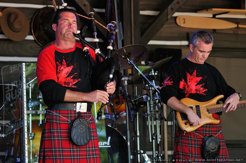 Off Kilter band, Canada - EPCOT