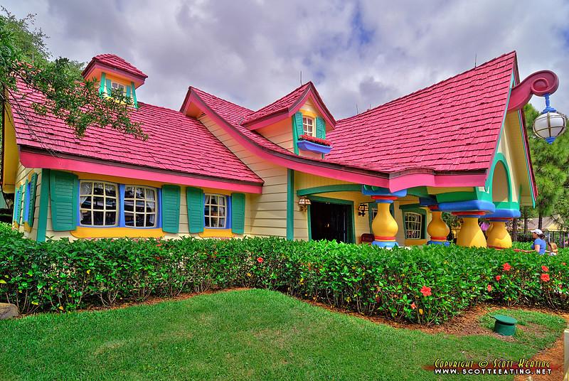 Magic Kingdom - Minnie's House