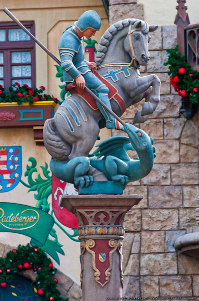 Statue of Saint George in Germany, Epcot