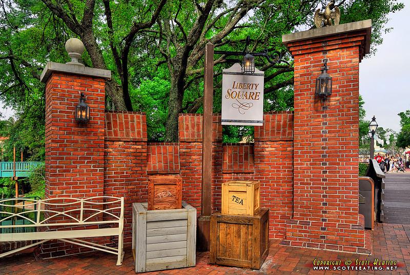 Magic Kingdom - Liberty Square entrance