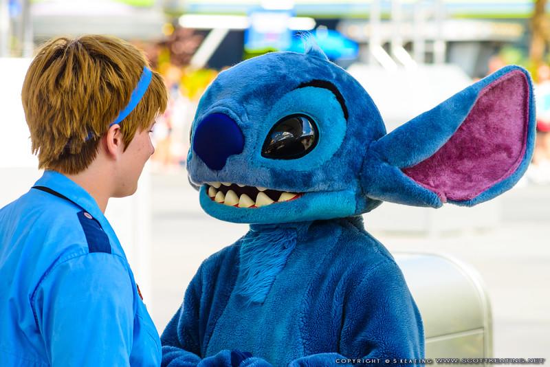 Stitch at Tomorrowland, The Magic Kingdom