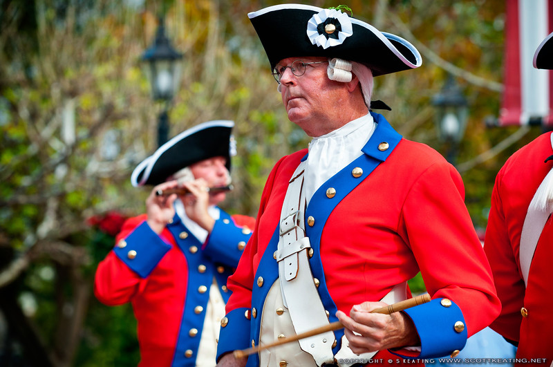 Epcot Fife & Drum Corps