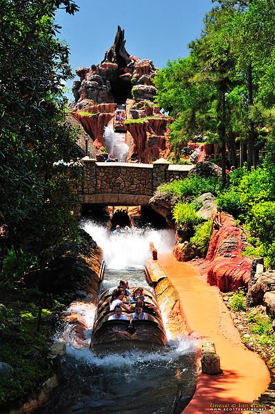 Splash Mountain - The Magic Kingdom, Disney World