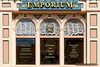 "Window and signs on the ""Emporium"" on Main Street - The Magic Kingdom, Disney World"