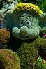 Seven Dwarfs topiaries at EPCOT