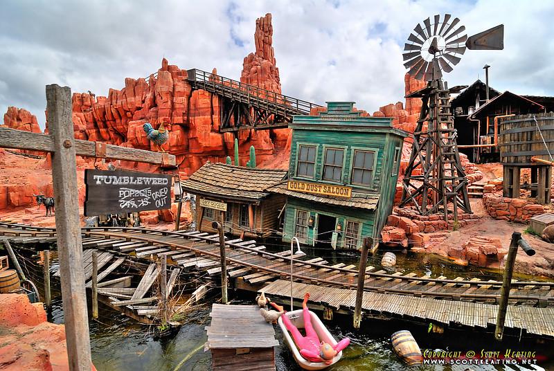 Magic Kingdom - Big Thunder Mountain Railroad