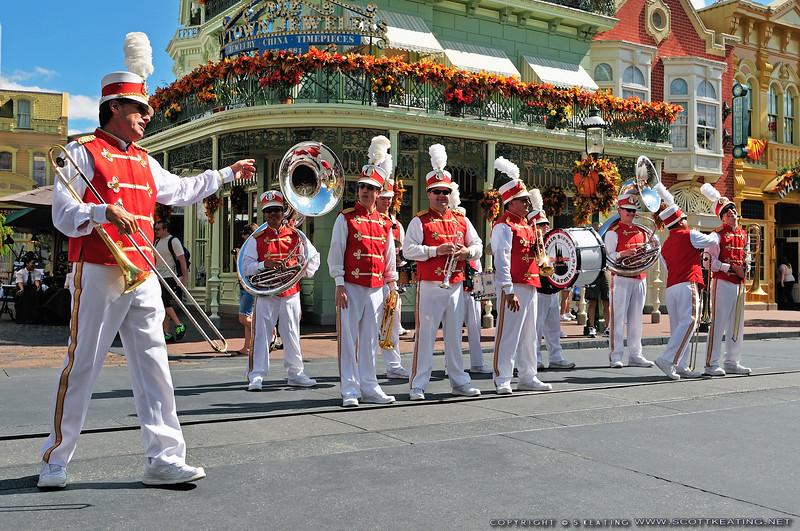 Main Street Philharmonic band - The Magic Kingdom, Disney World