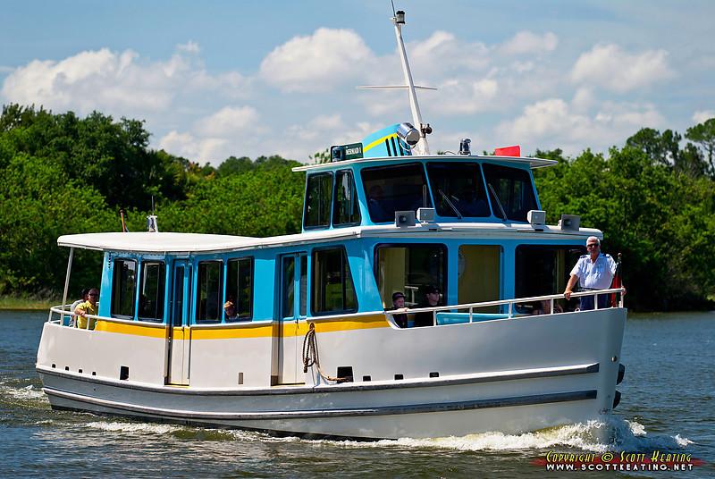 "Castaway-class motor cruiser  ""Mermaid I"" on Bay Lake"