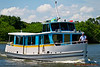 "Castaway-class motor cruiser  ""Mermaid I"" on Bay Lake"