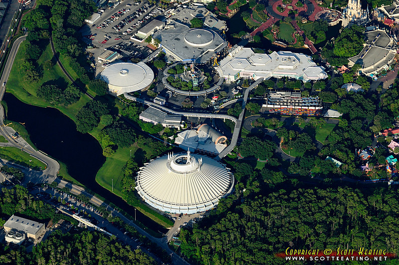 TomorrowLand - The Magic Kingdom, Disney World.