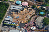 The Fantasyland expansion site, March 2011