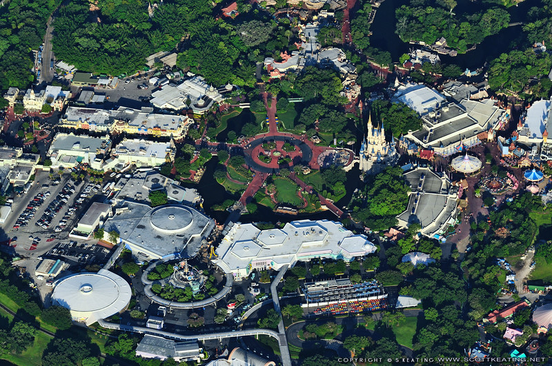 Disney World's Magic Kingdom, July 2009