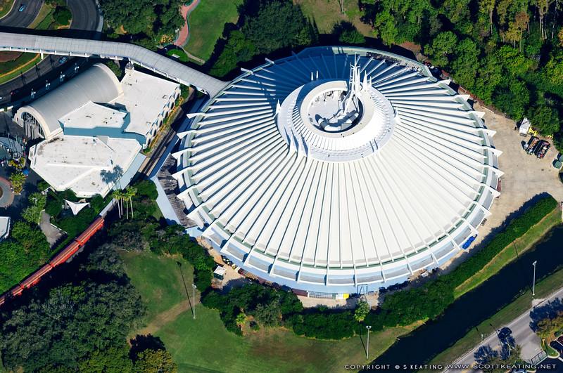 Space Mountain - The Magic Kingdom, Disney World