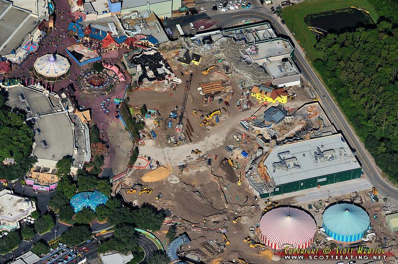 Fantasyland expansion - October 2011