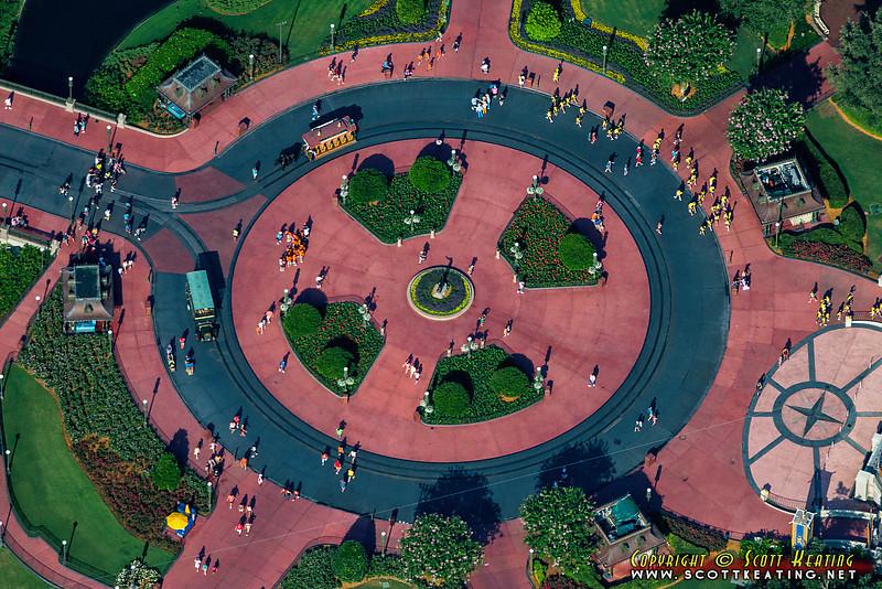 "The ""Hub"" at The Magic Kingdom - Disney World, Orlando, Florida"