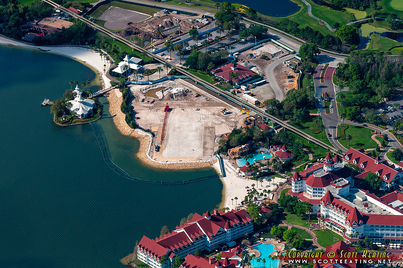 Grand Floridian DVC project and Wedding Pavilion<br /> The Disney Grand Floridian Resort DVC project and Wedding Pavilion - March 2012