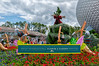Flower & Garden Festival<br /> Main entrance sign for the 2012 Flower & Garden Festival at Epcot
