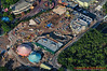 Disney World's Fantasyland expansion construction site, looking south.